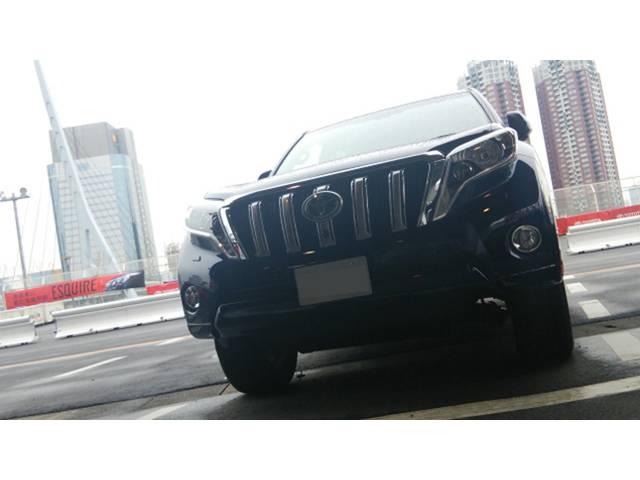 トヨタ ランドクルーザープラド 世界有数のオフロード性能