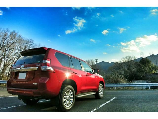 トヨタ ランドクルーザープラド 実燃費は10キロ超え