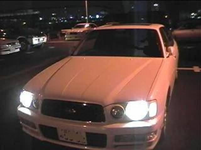 日産 グロリア この車とは10年の付き合い。色々 ありました〜。