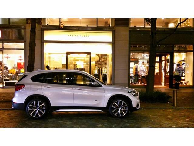 BMW X1 パッケージングの進化に驚き