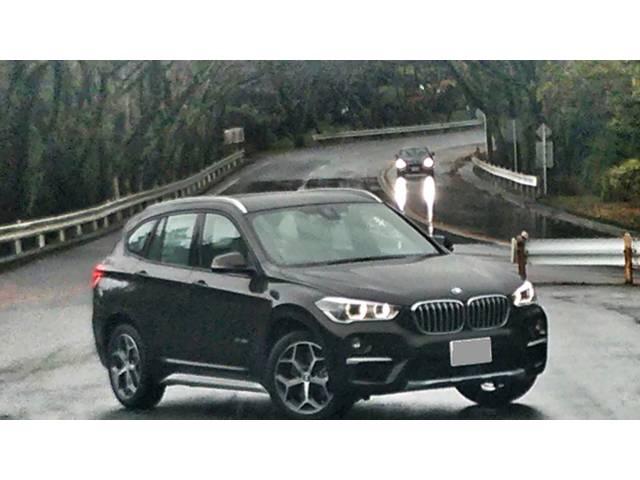 BMW X1 20iでも動力性能は十分